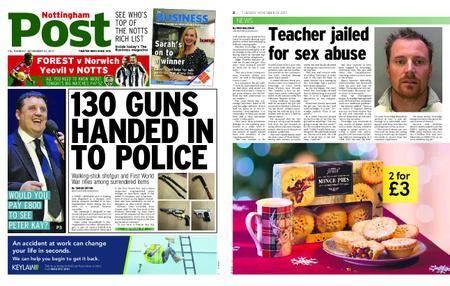 Nottingham Post – November 21, 2017