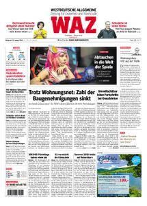 WAZ Westdeutsche Allgemeine Zeitung Oberhausen-Sterkrade - 22. August 2018