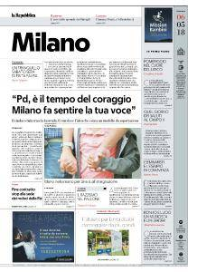 la Repubblica Milano - 6 Maggio 2018