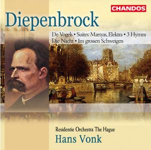 Hans Vonk, Residentie Orchestra The Hague - Diepenbrock: Orchestral Works and Symphonic Songs (2002)