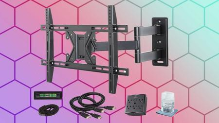 How to Hang a TV Mount on The Wall (Master Class) Easy Way