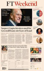 Financial Times Europe - April 10, 2021