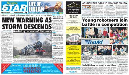 Shropshire Star Shrewsbury Edition – March 02, 2018