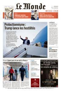 Le Monde du Samedi 3 Mars 2018