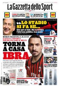 La Gazzetta dello Sport Roma – 21 novembre 2019