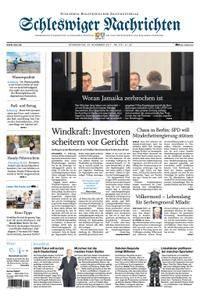 Schleswiger Nachrichten - 23. November 2017