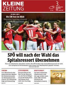Kleine Zeitung Steiermark - 3 September 2019