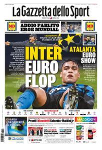 La Gazzetta dello Sport Roma – 10 dicembre 2020