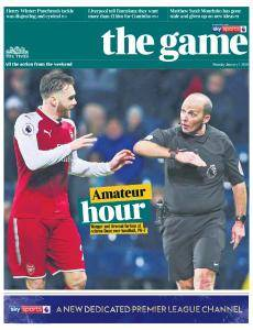 The Times - The Game - 1 January 2018
