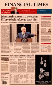 Financial Times UK – 03 September 2019