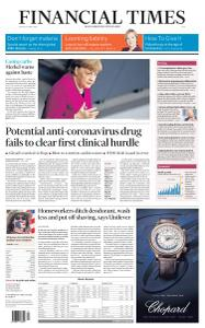 Financial Times Asia - April 24, 2020