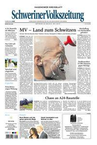 Schweriner Volkszeitung Hagenower Kreisblatt - 30. Mai 2018