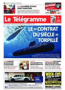 Le Télégramme Brest Abers Iroise – 17 septembre 2021