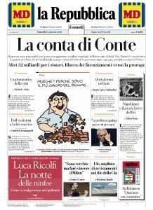 la Repubblica - 15 Gennaio 2021