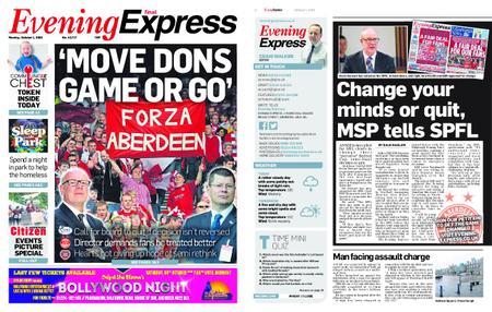 Evening Express – October 01, 2018