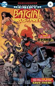 Batgirl and the Birds of Prey 016 2018 2 covers Digital Zone-Empire
