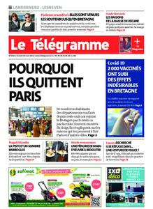 Le Télégramme Landerneau - Lesneven – 20 mars 2021