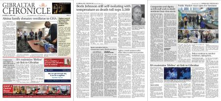 Gibraltar Chronicle – 04 April 2020