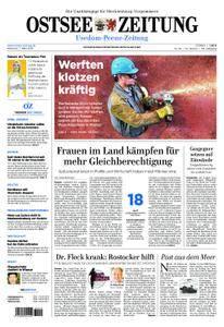 Ostsee Zeitung Wolgast - 07. März 2018