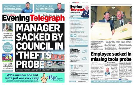 Evening Telegraph First Edition – October 02, 2018