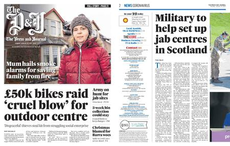 The Press and Journal Moray – January 18, 2021