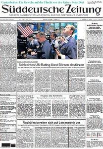 Süddeutsche Zeitung vom 09 August 2011