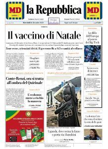 la Repubblica - 16 Dicembre 2020