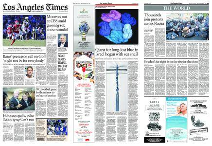 Los Angeles Times – September 10, 2018