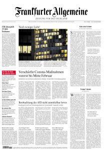 Frankfurter Allgemeine Zeitung - 20 Januar 2021