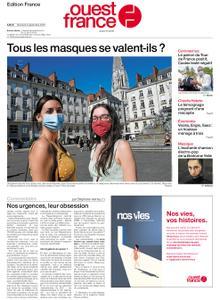 Ouest-France Édition France – 09 septembre 2020