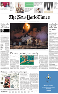 International New York Times - 15 May 2021