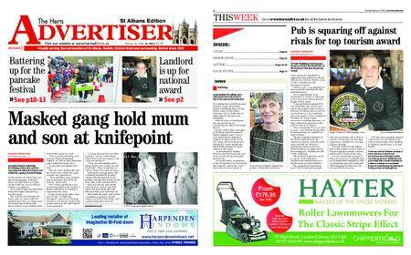 The Herts Advertiser – February 15, 2018