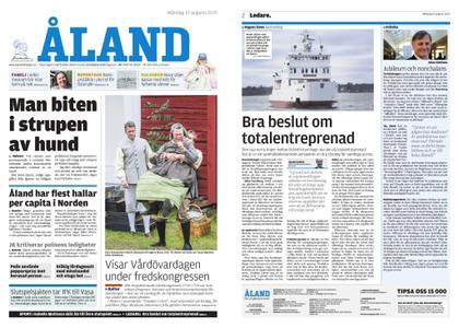 Ålandstidningen – 19 augusti 2019