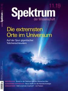 Spektrum der Wissenschaft - November 2019