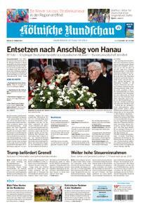 Kölnische Rundschau Rhein-Erft-Kreis/Brühl – 21. Februar 2020