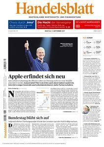 Handelsblatt - 11. September 2017