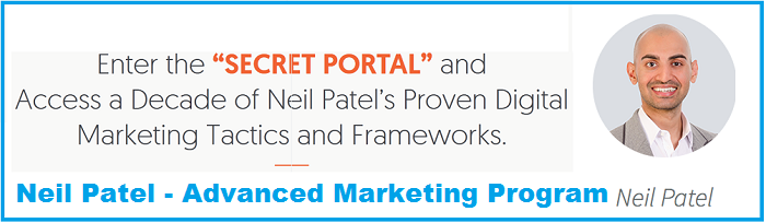 Neil Patel - Advanced Consulting Program - Mouth 9-12 (2017)