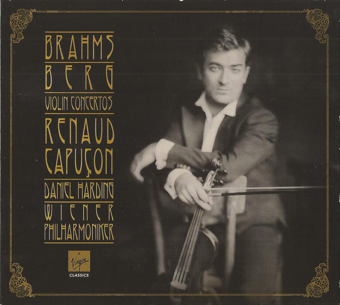 Renaud Capuçon - Brahms, Berg: Violin Concertos (2012
