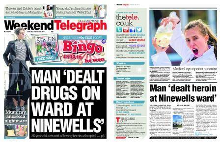 Evening Telegraph First Edition – October 28, 2017
