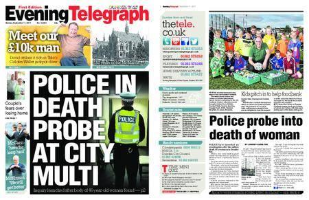 Evening Telegraph First Edition – September 11, 2017