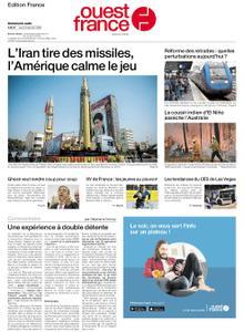 Ouest-France Édition France – 09 janvier 2020