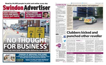 Swindon Advertiser – August 11, 2020