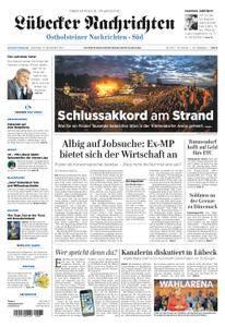 Lübecker Nachrichten Ostholstein Süd - 12. September 2017