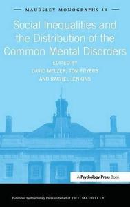 Social Inequalities and the Distribution of the Common Mental Disorders   [Repost]