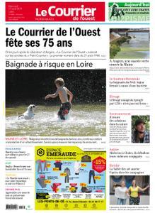 Le Courrier de l'Ouest Nord Anjou – 21 août 2019