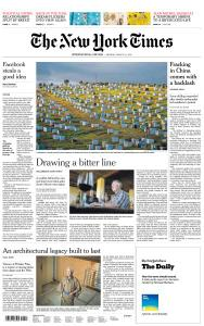 International New York Times - 11 March 2019