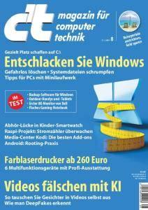 c't Magazin Nr.8 - 31 März 2018