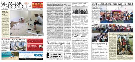 Gibraltar Chronicle – 01 July 2019