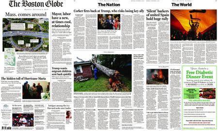 The Boston Globe – October 09, 2017
