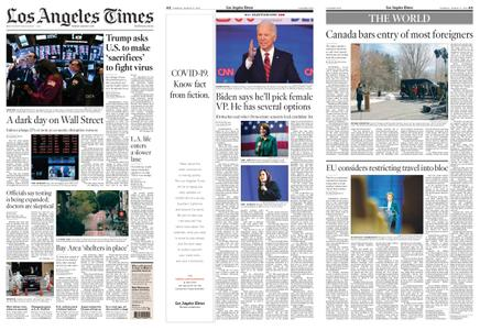 Los Angeles Times – March 17, 2020